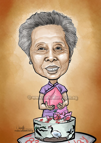 digital 82 birthday caricature (watermarked)