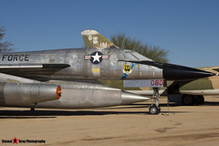 61-2080 - 116 - USAF - Convair B-58A Hustler - Pima Air and Space Museum, Tucson, Arizona - 141226 - Steven Gray - IMG_8605