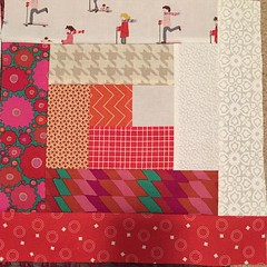Block 2 #dogoodstitches #dgscheercircle #cheercircle #charitysewing #projectlinus
