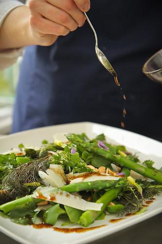 Italian Garden Asparagus Salad