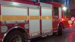 Toronto Fire on Scene