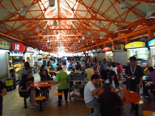 P4178995 Maxwell Food Centre(マックスウェル・フードセンター) シンガポール