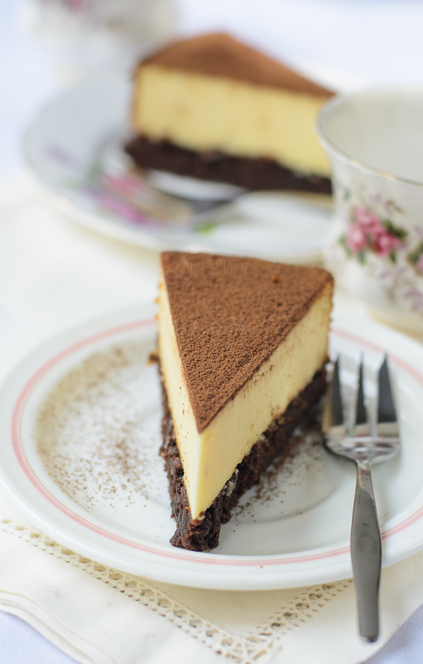 New York Brownie Cheesecake