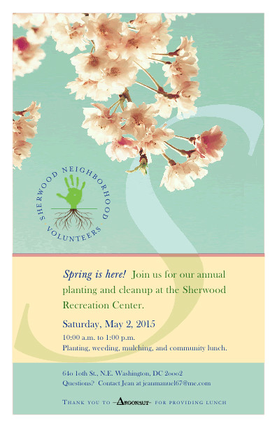 SNV Spring 2015 flyer