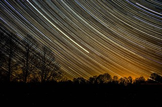 Stars through the window