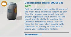 Cantaminent Barrel