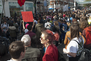 Reclaim Brixton protest 25 April 2015