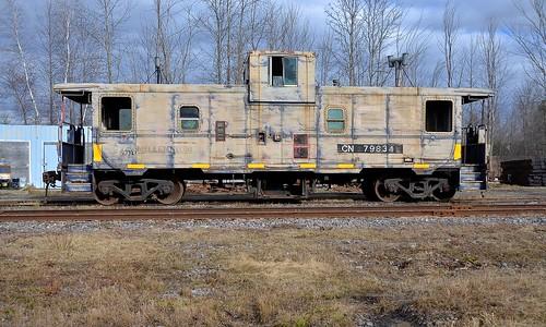 ontario cn caboose van canadiannational vankleekhill vankleekspur cn79834
