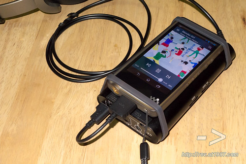 Sony Walkman ZX1 with TIDAL app