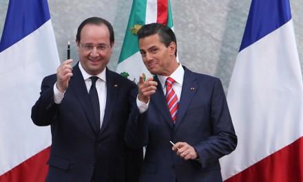 Mexicanos en Francia piden a Hollande cancelar invitación a Peña a fiesta nacional
