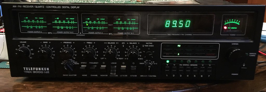New project    Telefunken TRX 3000 Quad | Audiokarma Home Audio