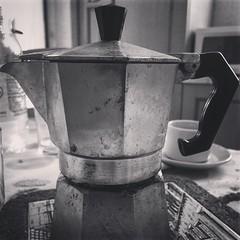 This is the Italian way. #coffee #deathbeforedecaf #italian #design #bialetti #moka