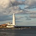 St Mary's Lighthouse Whitley Bay by galanthophile