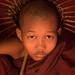 Novice Monk, Bagan, Myanmar by Joel Santos - Photography