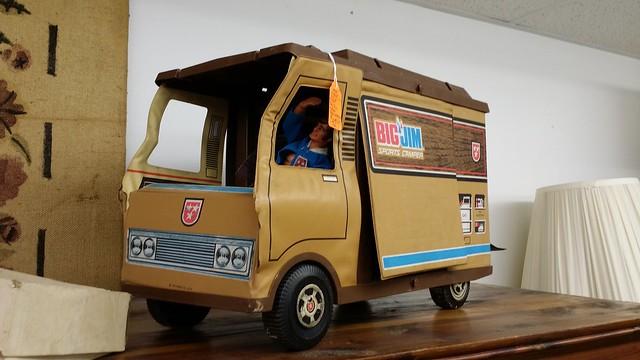 Big Jim vinyl truck