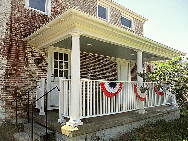 Buckland House porch