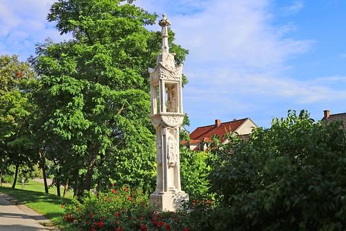 Guntersdorf. Zigeunerkreuz, 1504 - Gotik