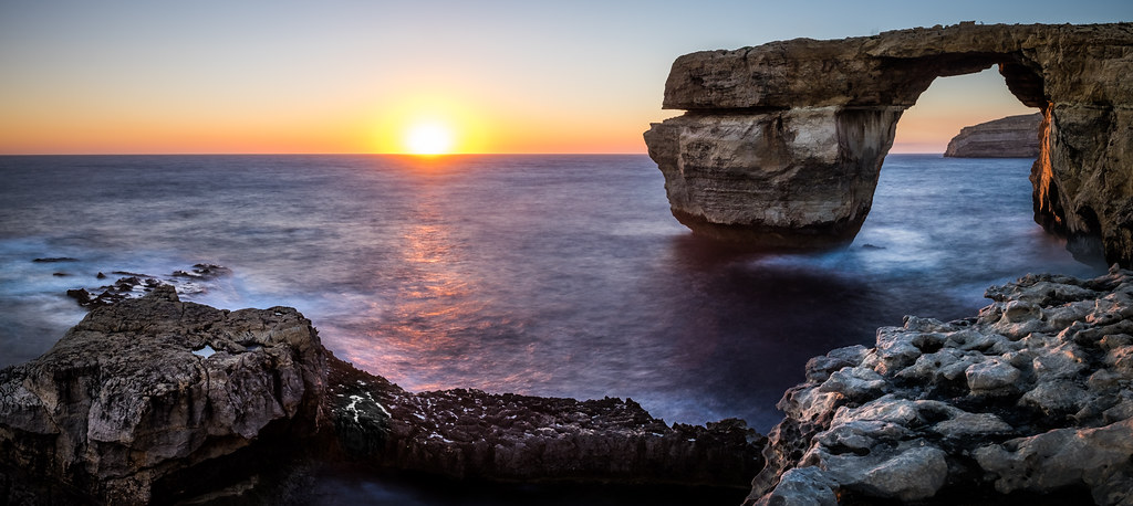 Azure Window - San Lawrenz, Malta - Seascape photography