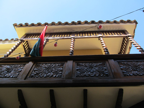 La Paz: la calle Jaen, la rue coloniale et ses balcons de bois