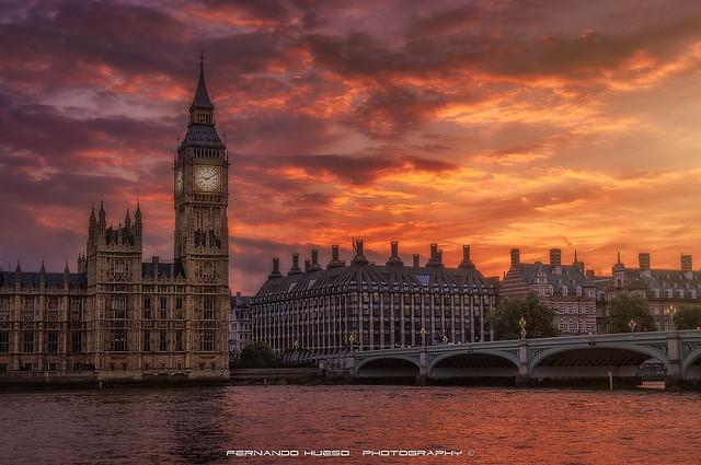 A London postcard