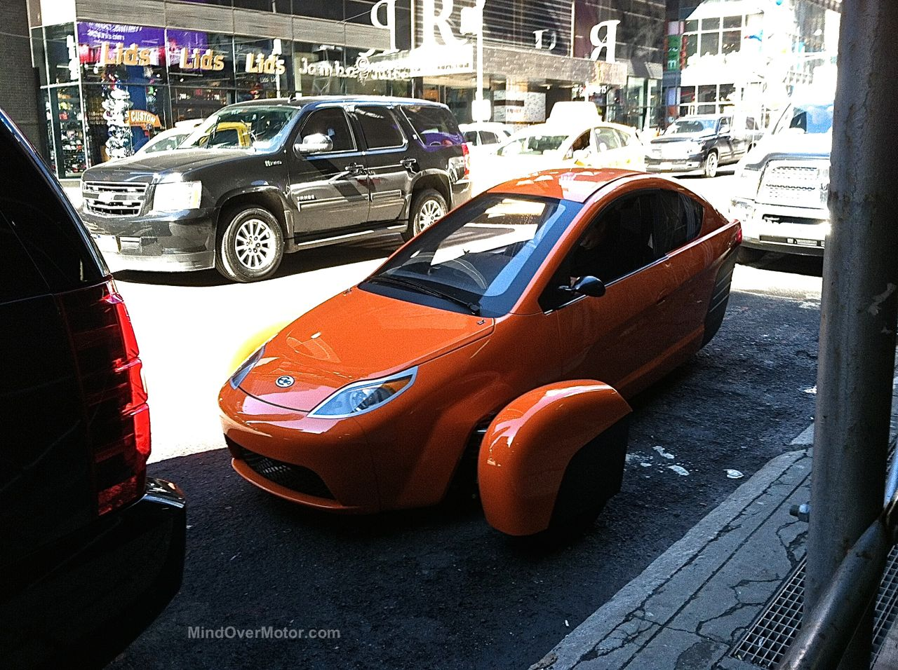 Elio Motors in NYC 1