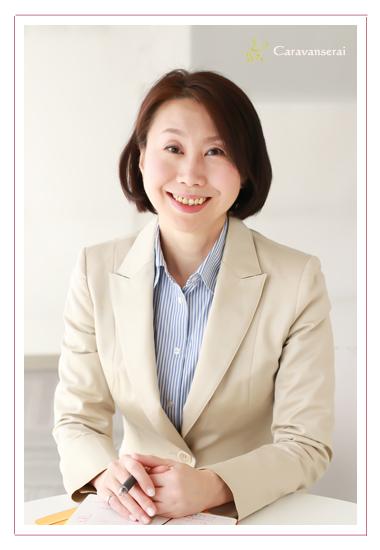 プロフィール写真撮影 女性起業家 ビジネス用 仕事用 美肌修正・加工 愛知県 名古屋市