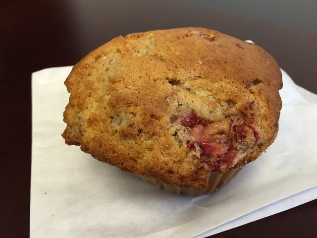 Strawberry muffin - The Sentinel