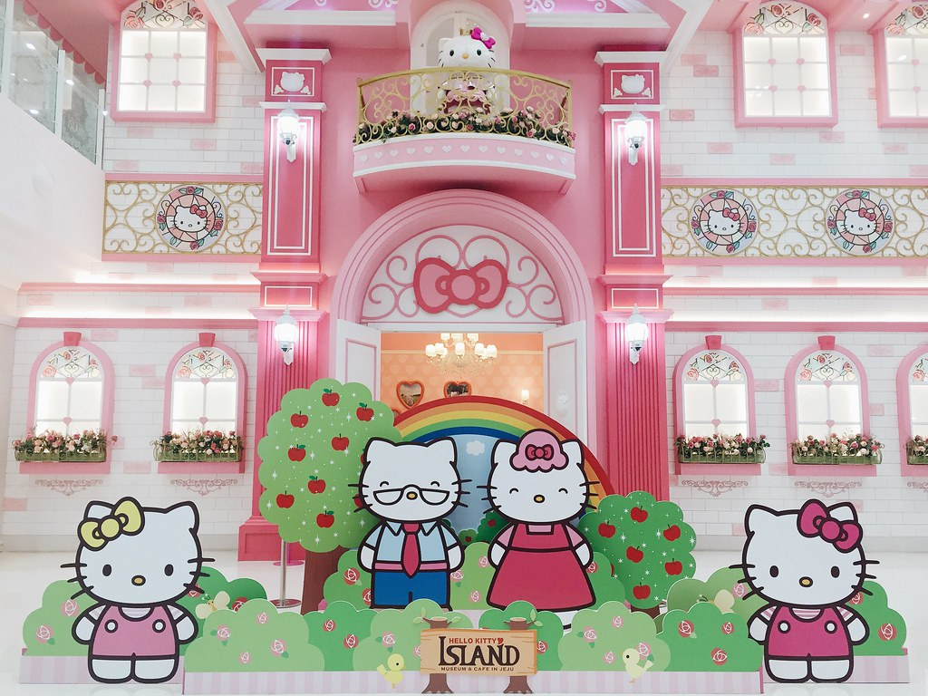 Hello Kitty Island, Jeju South Korea