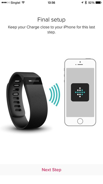 Fitbit iOS App - Setup #5