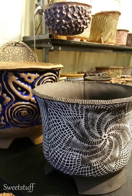 Mark Muradian pots