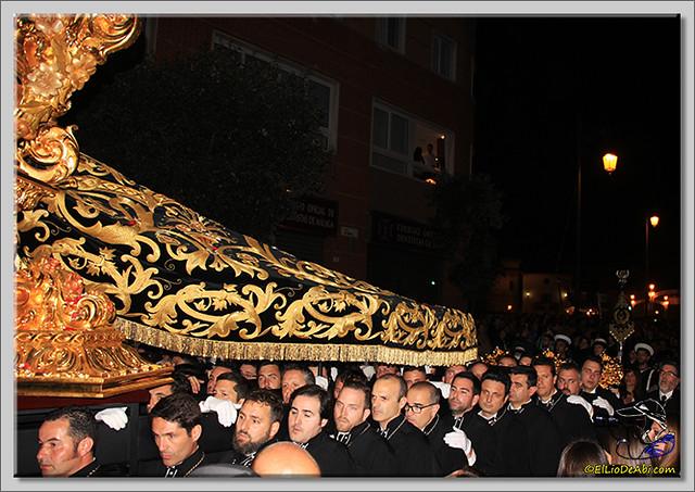 21 Semana Santa en Málaga. Cristo de Mena y Legionarios