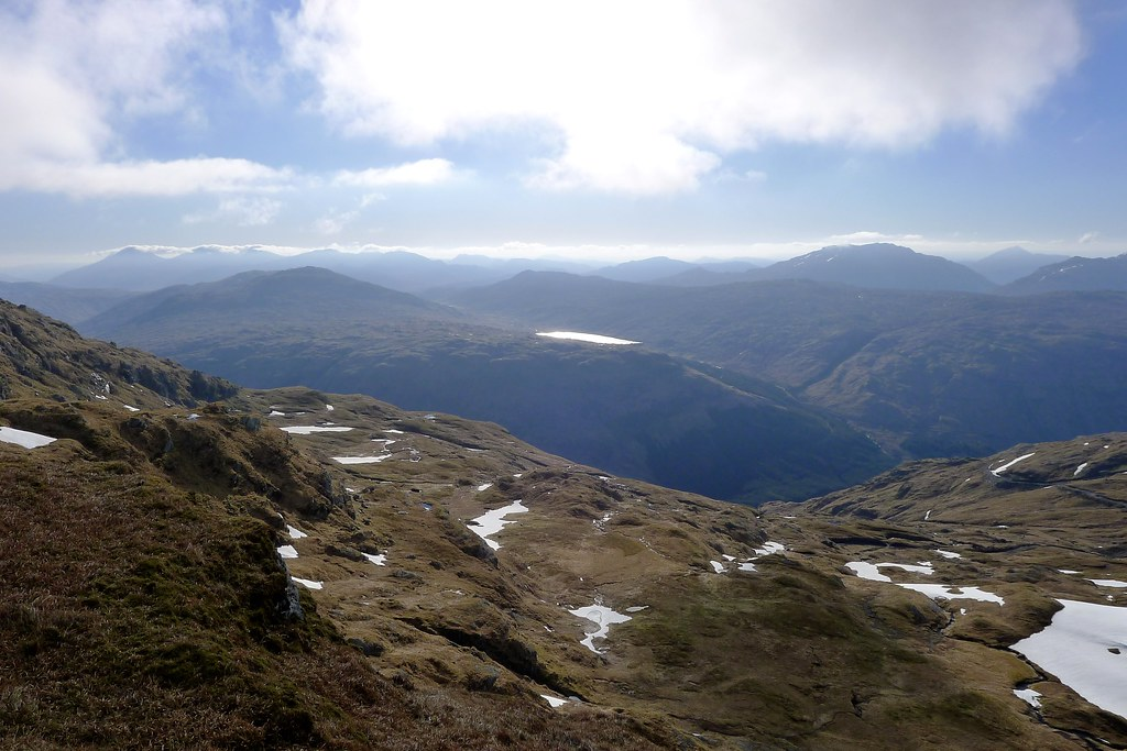 An Lairige and eastward from Beinn Bhuidhe