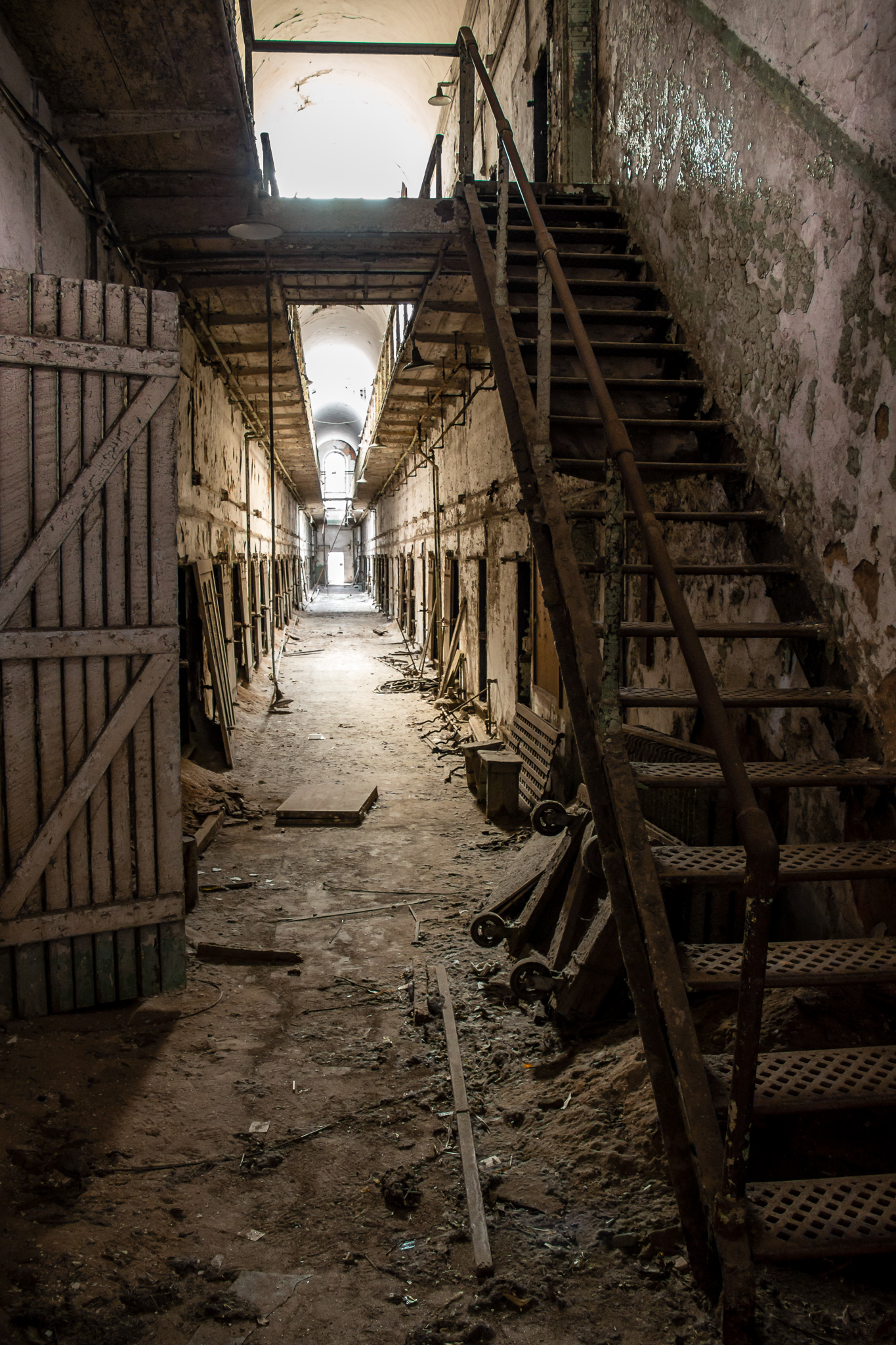 Abandoned Cell Block
