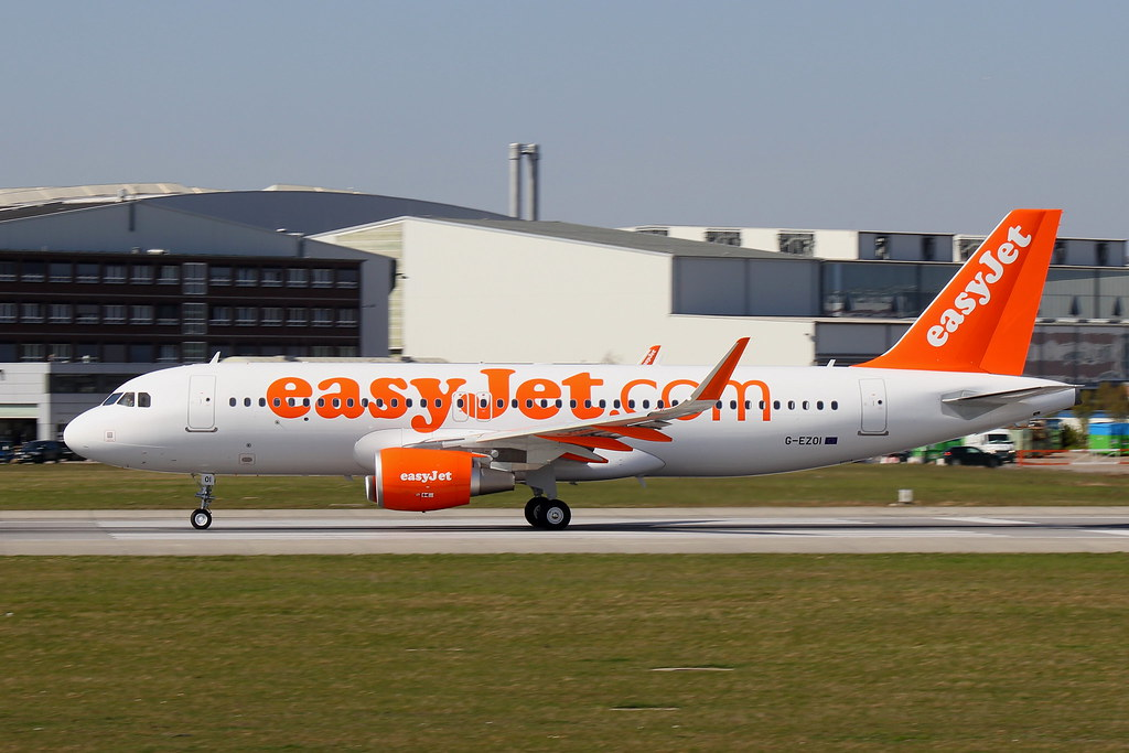 G-EZOI - A320 - EasyJet