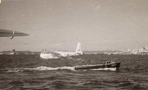 Seaplane at  Augusta 1940's