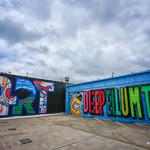 Deep Ellum art wall