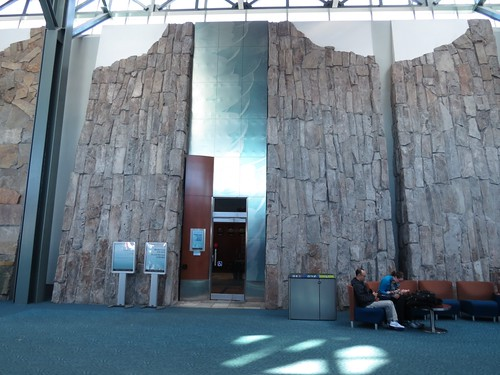 Sea to Sky Wall in Vancouver Airport