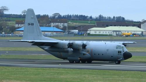 CH-03  C130 Hercules Belgian Air Force. (IMG_3929)