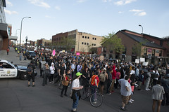 Minneapolis march to support the people of Baltimore