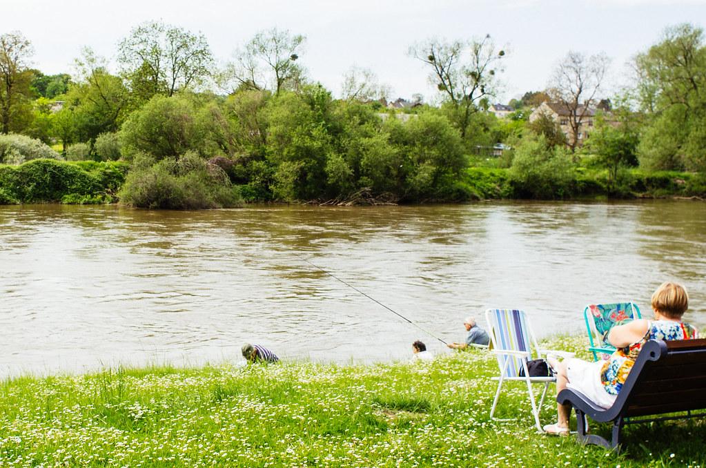 Carnet de voyage en France - Ardennes - Partie de pêche