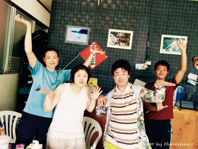 本日の集合写真♪ 2015/05/31