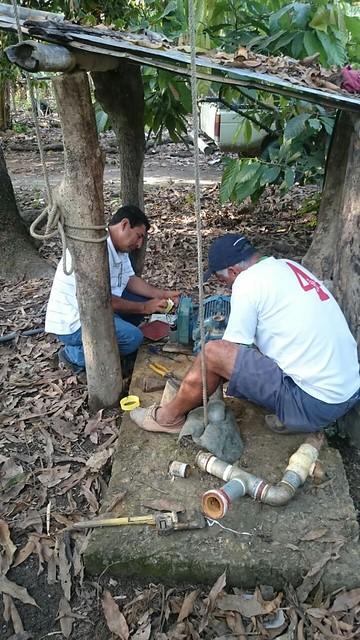 Aguas del Chuno instaló bomba en Canuto