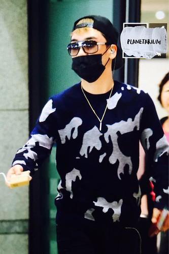 BIGBANG arrival ICN Seoul from Taiwan 2015-09-28 (32)