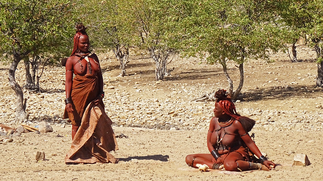 Himba women - Namibia.