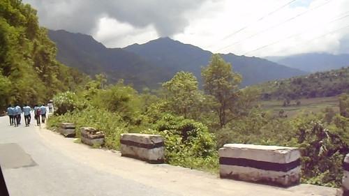 Drive KTM to Pokhara