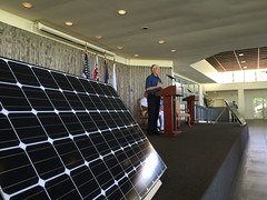Hawaiian Electric Lease-signing Ceremony for West Loch PV Project with the Navy - July 21, 2016