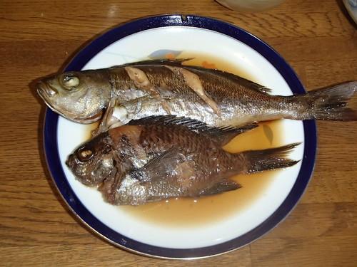 伊佐木 中華蒸 煮魚 - naniyuutorimannen - 您说什么!