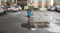 Olympic Puddle Splashing