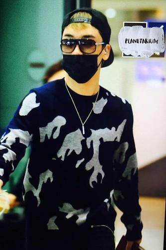 BIGBANG arrival ICN Seoul from Taiwan 2015-09-28 (43)