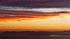 Sunset from Skyline Blvd, Oakland, California, looking toward the Marin Headlands and Angel Island